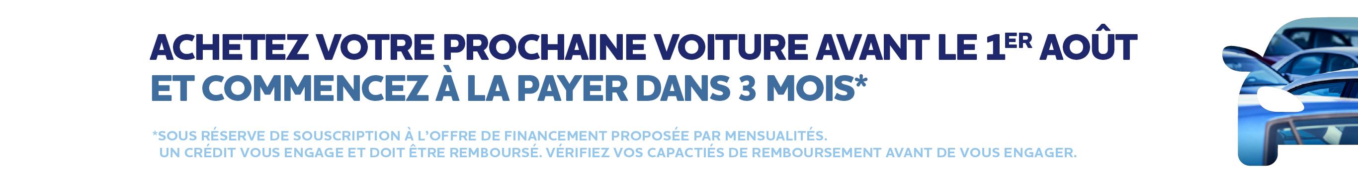 Report 3 mois Juin-Juillet 2020
